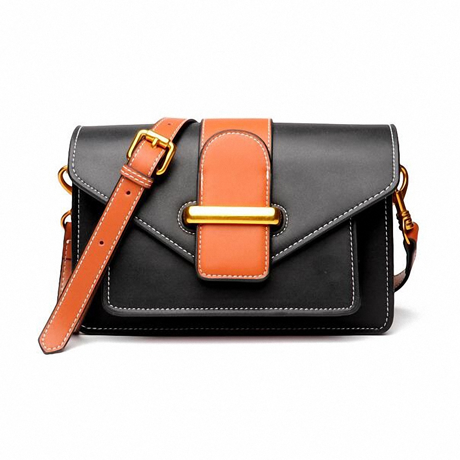 Women Messenger Bags Handbags Female Genuine Leather Totes Shoulder Crossbody Bag Small Purse SLI-394
