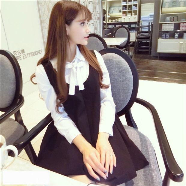 maternity clothes 2016 spring new Korean pregnant women fashion long-sleeved two-piece dress suits Spring and autumn dresses