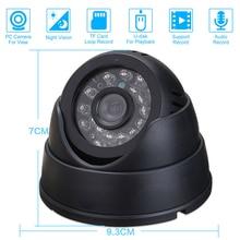 Cctv dvr Регистраторы Ночное видение купол Камера с видеонаблюдения DVR петля/звучание Регистраторы безопасности Камера USB Поддержка 32 ГБ карты памяти
