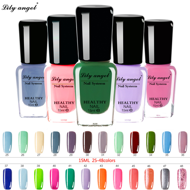 New Arrivel 1 Bottle 15ml Lily Angel Nail Art Stamping Polish Newly