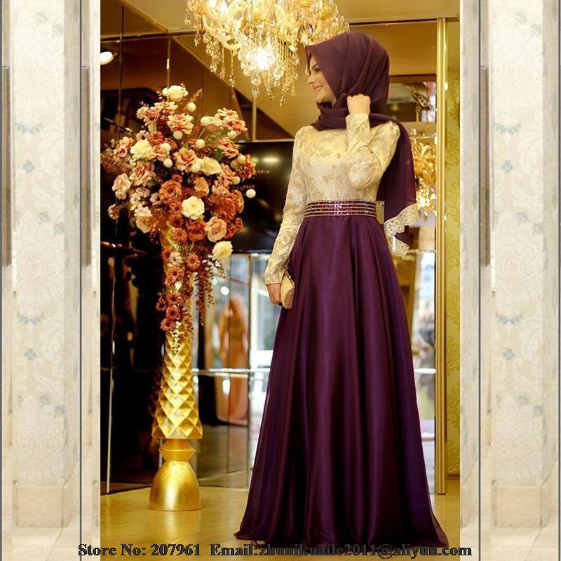 Aliexpress Com Buy Elegant Kaftan Arabic Evening Dress