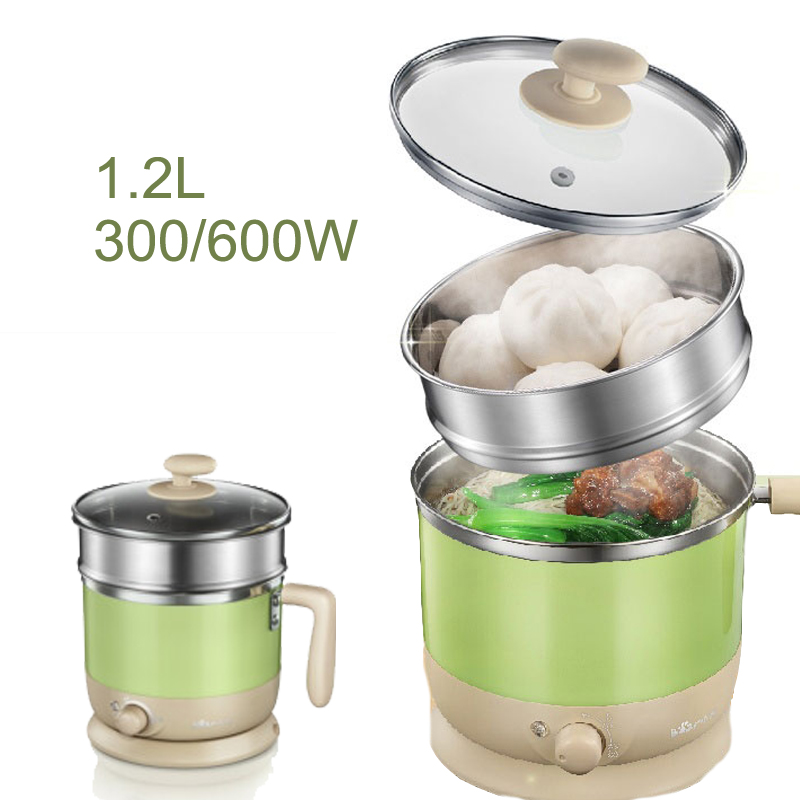 22%,Mini Electric Rice Cooker Stainless Steel Lunchbox 2 Layers Steamer Multi Cookers for Students Steam Stew C1021,1.2L22%,Mini Electric Rice Cooker Stainless Steel Lunchbox 2 Layers Steamer Multi Cookers for Students Steam Stew C1021,1.2L