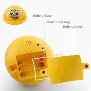 Image 4 - Juguetes de baño Agua pulverizada con luz giratoria para niños, juguetes para niños pequeños, juguetes de baño con luz LED