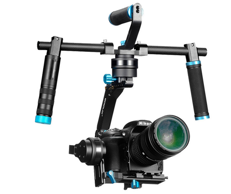 NEW wondlan SK05 Updated 3-axis dual handheld gimbal stabilizer for camera DSLR Canon Panasonic steadciam yuneec q500 typhoon quadcopter handheld cgo steadygrip gimbal black