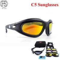 다기능 편광 자전거 선글라스 군사 장난감 총 촬영 안경 FS C5 사냥 하이킹 고글 도로 자전거 안경