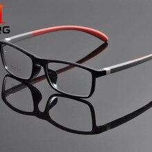 Deding стильная брендовая мужская оправа для очков, унисекс очки, TR90 оправа, небьющиеся скрученные силиконовые дужки очки, оправа d1164
