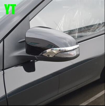 Car rear view mirror cover,auto rear mirror trim for Toyota Camry 2012- 2015,ABS chrome,2pc/lot,car styling