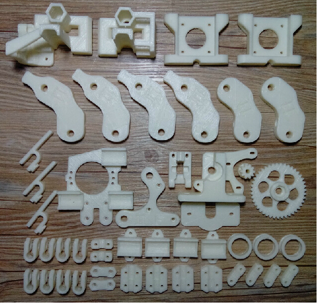 Horizon Elephant  Reprap Prusa Mendel i2 3D printer printed parts kit/set ABS free shipping horizon elephant reprap prusa mendel i3 smooth rod screw rod screw kit for diy 3d printer