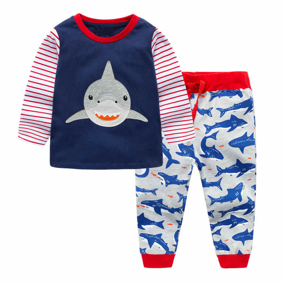 7e6c4f784 Detail Feedback Questions about New Dino Kids Pyjamas 100% Cotton ...