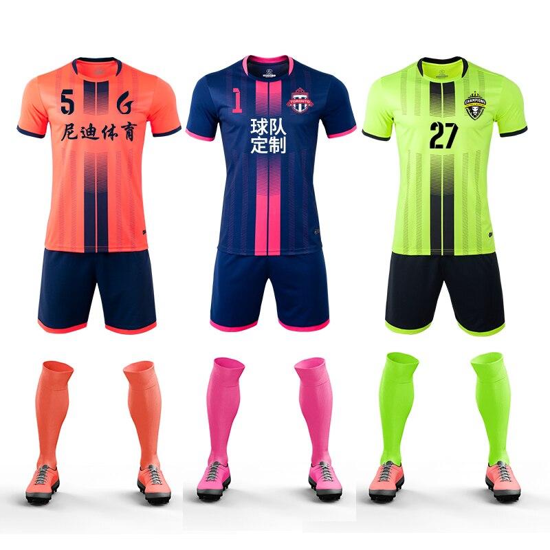 Survetement Football 2020 New Men's Kids Soccer Jerseys Set Boys Women  Running Training Uniforms Team Blank Sports Clothes Print Soccer Sets  -  AliExpress