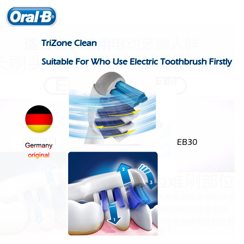 Oral B Replacement Brush Heads For Rotary Electric Toothbrush 3D Teeth Polish Whitening Dental Floss Clean Precision Nozzles
