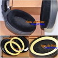 DIY Sliver Smooth Velvet Cushion Ear Pads For Sennheiser HD545 HD565 HD580 HD600 HD650 Headphone