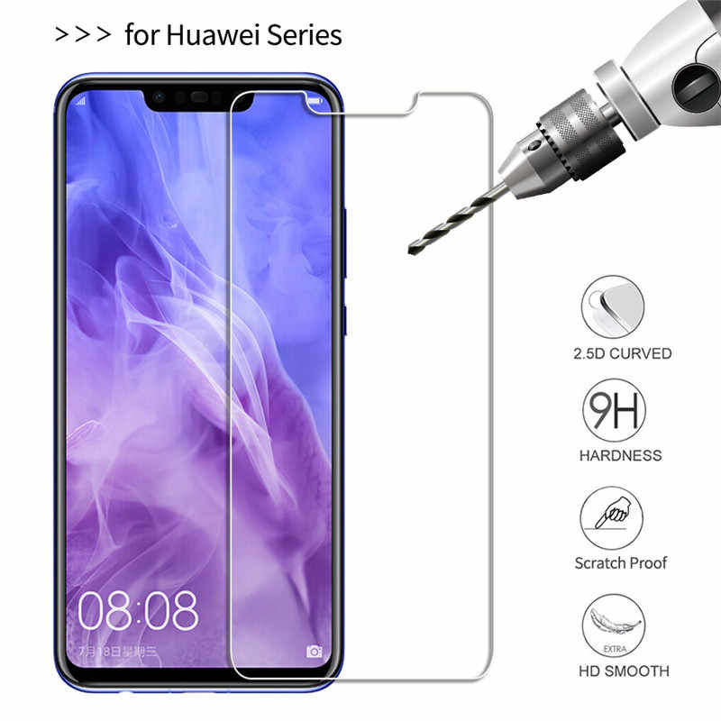 Screen Protector For Huawei Honor 8X 9 lite 7A 7C Protective Film for Huawei Mate 10 Mate 20lite P10 P20 Lite Pro Tempered Glass