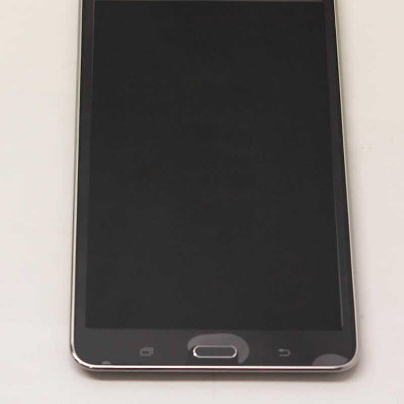 شاشات lcd لسامسونج غالاكسي تبويب 4 7.0 T230 SM-T230 شاشة تعمل باللمس الاستشعار محول الأرقام الزجاج + شاشة الكريستال السائل لوحة مع الإطار الحافة