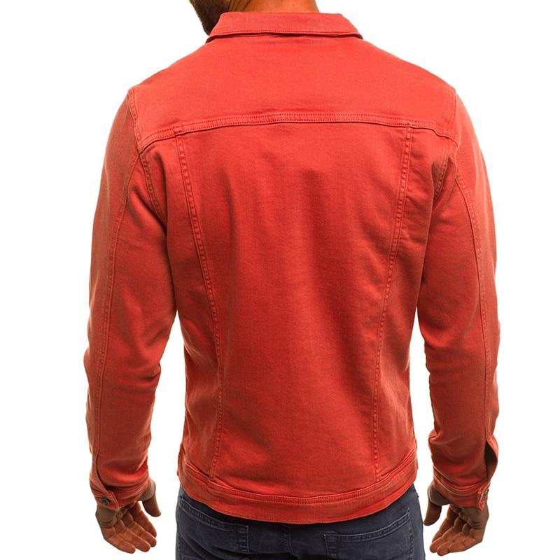 DIMUSI Spring Mens Denim Jacket Fashion Male Jeans Jackets Slim Fit Casual Streetwear Vintage Men Jean Outwear Clothing.TA325 3