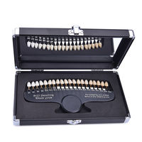 Professional Dental 20 Colors Tooth Cold Light Whitening Ratio Color Board