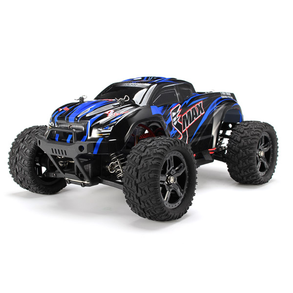 REMO 1631 1/16 2.4G 4WD Brushed Off-Road Monster Truck SMAX RC Car remo hobby 1631 1 16 4wd rc brushed truck rtr