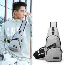 New Anti-theft Chest Pack Summer Short Trip Messengers Bag Water Repellent Shoulder Crossbody Bags Men Women celular Unisex