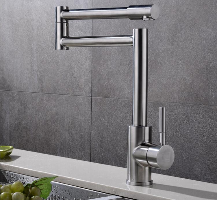 kitchen sink faucet single lever hot and cold torneira nano stainless steel modern faucet 720dergree swivel mixer sink water tap new arrival tall bathroom sink faucet mixer cold and hot kitchen tap single hole water tap kitchen faucet torneira cozinha