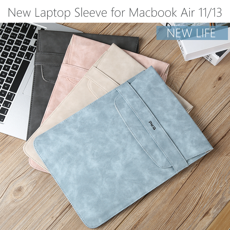 New Laptop Sleeve 14 inch Laptop Case for macbook air 13 case 13.3 15.6 15 Laptop Bag for Dell Asus Macbook Hp laptoptas 15.6 notebook bag 12 13 3 15 6 inch for macbook air 13 case laptop case sleeve for macbook pro 13 pu leather women 14 inch