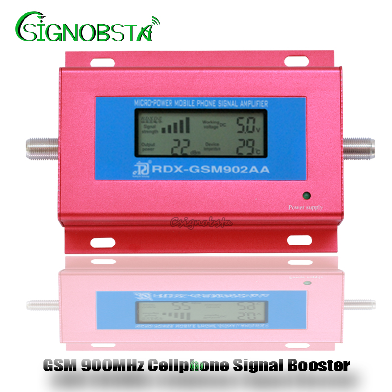 2018 New GSM Repeater 900MHz Mini LCD Display GSM900 Cellular Signal Repeater Booster 2G Cellphone Phone Amplifier Wholesale