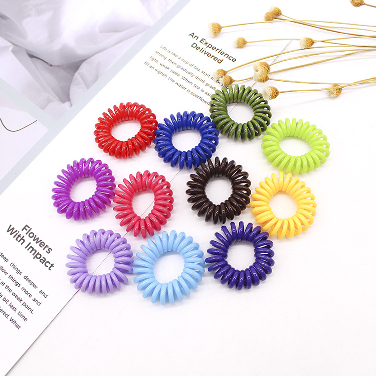 15pcs lot Candy Colors Hair Ornaments Elastic HairBands Kids Hair Bands For Girls Women Headband Hair Styling Accessories in Hair Jewelry from Jewelry Accessories