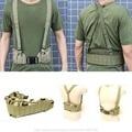 Tactical Gear MOLLE Cintura Acolchada Correa Para Hombre Cinturones Suspender Ajustable Ayuda de La Cintura de Caza Militar Del Ejército de Airsoft Combat