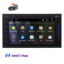 Android 7.1 in Dash GPS DVD Player Car Stereo 2Din Octa Core Car Deck Vehicle Headunit Bluetooth Hands Free Map Wifi+Back Camera
