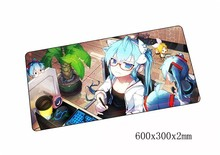 Hatsune Miku mouse pad 60x30cm pad to mouse mat notbook computer mousepad large gaming padmouse gamer to laptop mouse mats