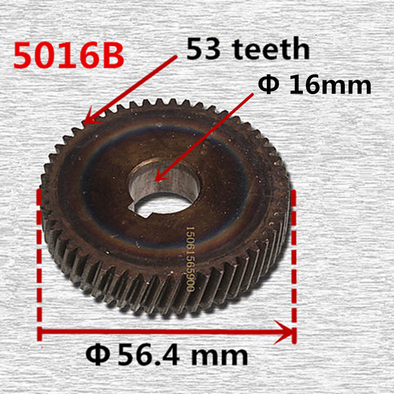 Gear Replacement Wheel Gear For MAKITA 5016B 221636-4 Electric Chain SawAccessories Parts Power Wood Tools Machine 5pcs openbuilds small plastic wheel with bearings passive round wheel idler pulley gear perlin wheel for 3d printer parts 3d0004