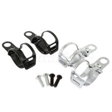 Yetaha Motorcycle Turn Signals Relocation Fork Clamps Mount Light Holder lamp mount Bracket for 30MM-45MM front fork