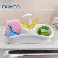 OUBONI New Portable Home Bathroom Plastic Shampoo Soap Dispenser Practical Liquid Soap Shampoo Shower Gel Container