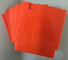 Cor laranja 72 Pinos Jogo Cartucho de Substituição De Plástico Shell Para NES Console