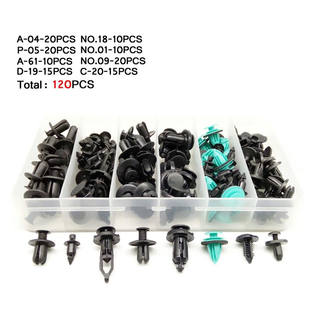 CNIKESIN 6-10mm voor Alle Auto Gemengde Auto Fastener Clip Plastic - Auto-interieur accessoires - Foto 5