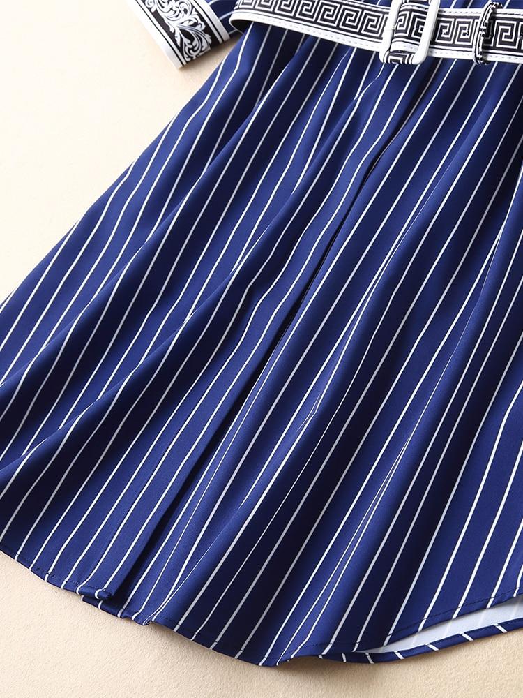 Femmes Supérieure Hfa02145 Printemps Design Célèbre Robe Luxe Nouvelle Style Européenne De Mode 2019 Qualité Partie RHRw5qrI