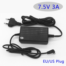 AC 100-220V Power Adapter 7.5V 3A led Desktop Adapter  Power Supply with EU/US plug 5.5*2.5MM