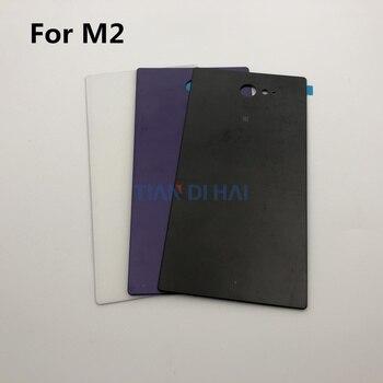 Alta calidad para Sony Xperia M2 D2302 D2303 D2305 D2306 cubierta de la batería cubierta de la puerta trasera marco de la cubierta trasera del chasis