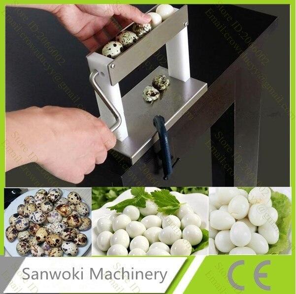 Machine manuelle d'épluchage d'oeufs de caille de ménage décortiquant la machine-in Robots culinaires from Appareils ménagers    1