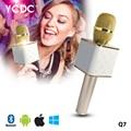 WX Mini K068/Q7 Gold/Rosy/White Gold Wireless Handheld Karaoke Player Micphone Microphone With Bluetooth Speaker KTV Mic