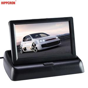 "Image 5 - จอภาพ 4.3 ""จอแสดงผลสำหรับกล้องด้านหลัง TFT LCD แบบพับเก็บได้ 4.3 นิ้ว HD หน้าจอสำหรับรถย้อนกลับ"