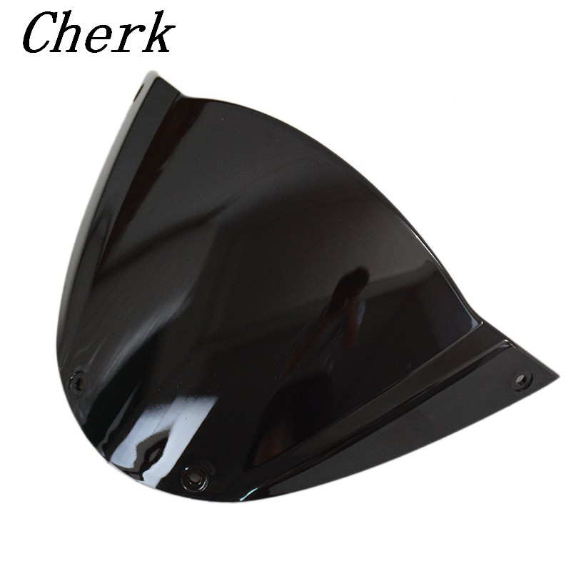 New Motorcycle Black High Quality ABS Windscreen Windshield Double Bubble for Ducati Monster 696 2009 2013 10 11 12|double bubble|windscreen windshield|windshield windscreen - title=