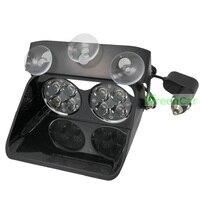 1pcs 24W High Power LED Windshield Warning Light Car Flash Strobe Police Lights Truck Beacons Emergency