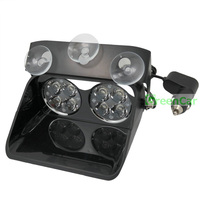 1pcs 24W High Power LED Windshield Warning Light Car Flash Strobe Police Lights Truck Beacons Emergency