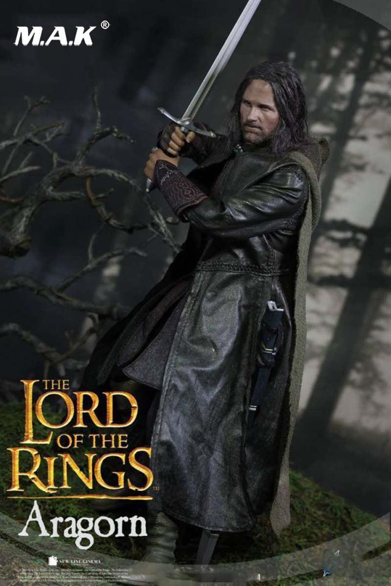 1:6 Scale The Lord Of The Rings LOTR008s Aragorn 2.0 Collectible Action Figure 1 6 scale full set soldier the lord of the rings elven prince legolas action figure toys model for collections