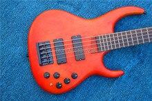 Freies verschiffen neue guitarra bass gitarre custom shop oem e-gitarre rot farbe guitarra/gitarre in china