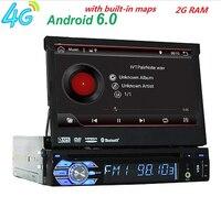 Android 6 0 HD 1024 600 Car DVD Player Radio For Universal Car Radio Monitor 4G