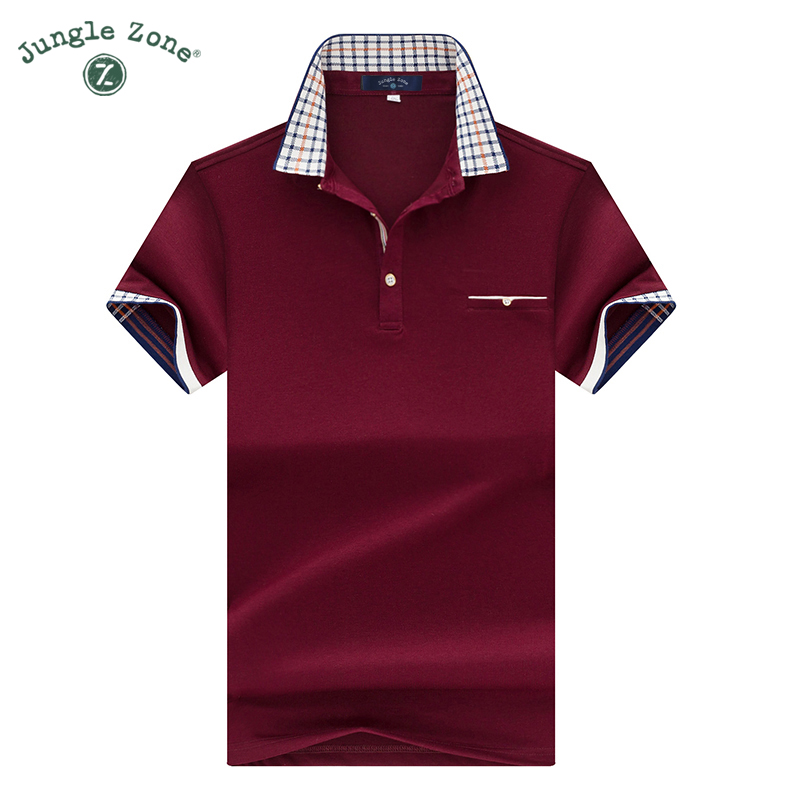 2017 top quality summer short sleeve polo shirt solid for Best quality polo shirts for men