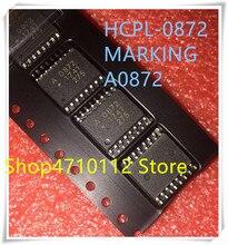 NEW 10PCS/LOT HCPL-0872 HCPL0872 A0872 A 0872 SOP-16 IC