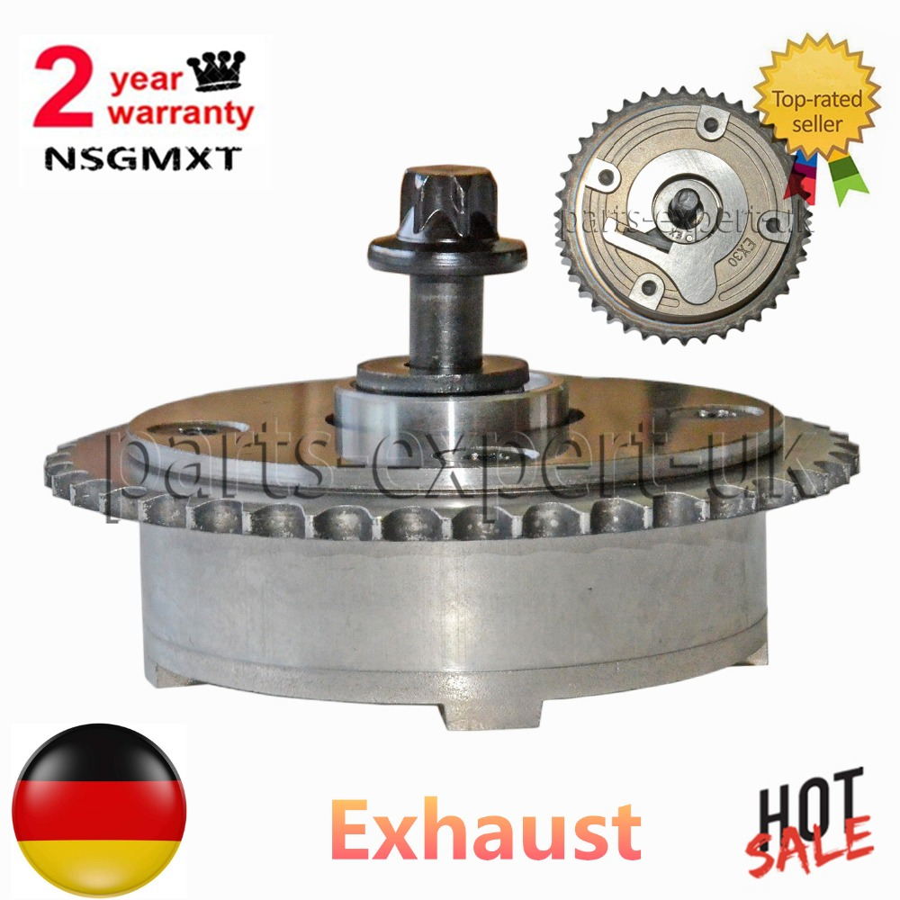 EXHAUST TIMING CAMSHAFT PULLEY For Mini R55 R56 R57 R58 R59 R60 R61 For BMW F20 F21 F30 F31, 11 36 7 536 085, 11367536085 engine aluminum front strut tower bar for bmw mini r55 r56