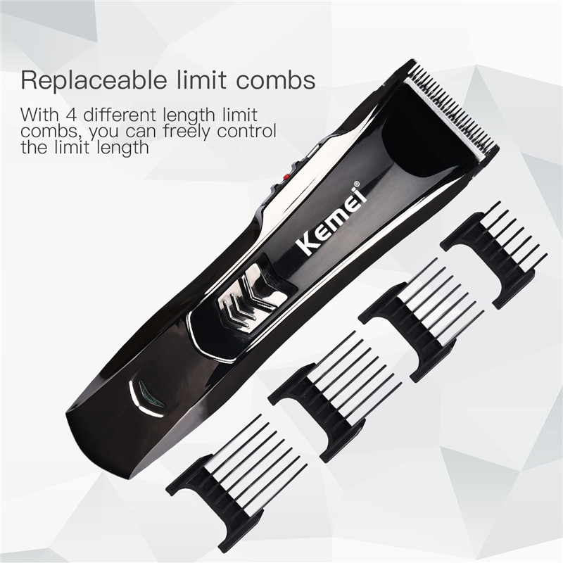 Professional Rechargeable Hair Clipper for Men 3-12mm Adjustable Hair Trimmer Waterproof Hair Cutting Machine Styling Tool 36Professional Rechargeable Hair Clipper for Men 3-12mm Adjustable Hair Trimmer Waterproof Hair Cutting Machine Styling Tool 36